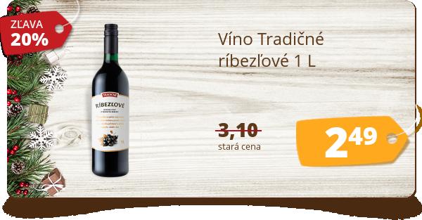 Víno Tradičné  ríbezľové 1 L