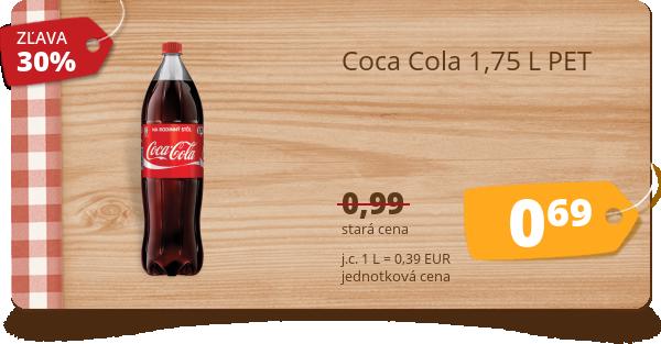 Coca Cola 1,75 L PET